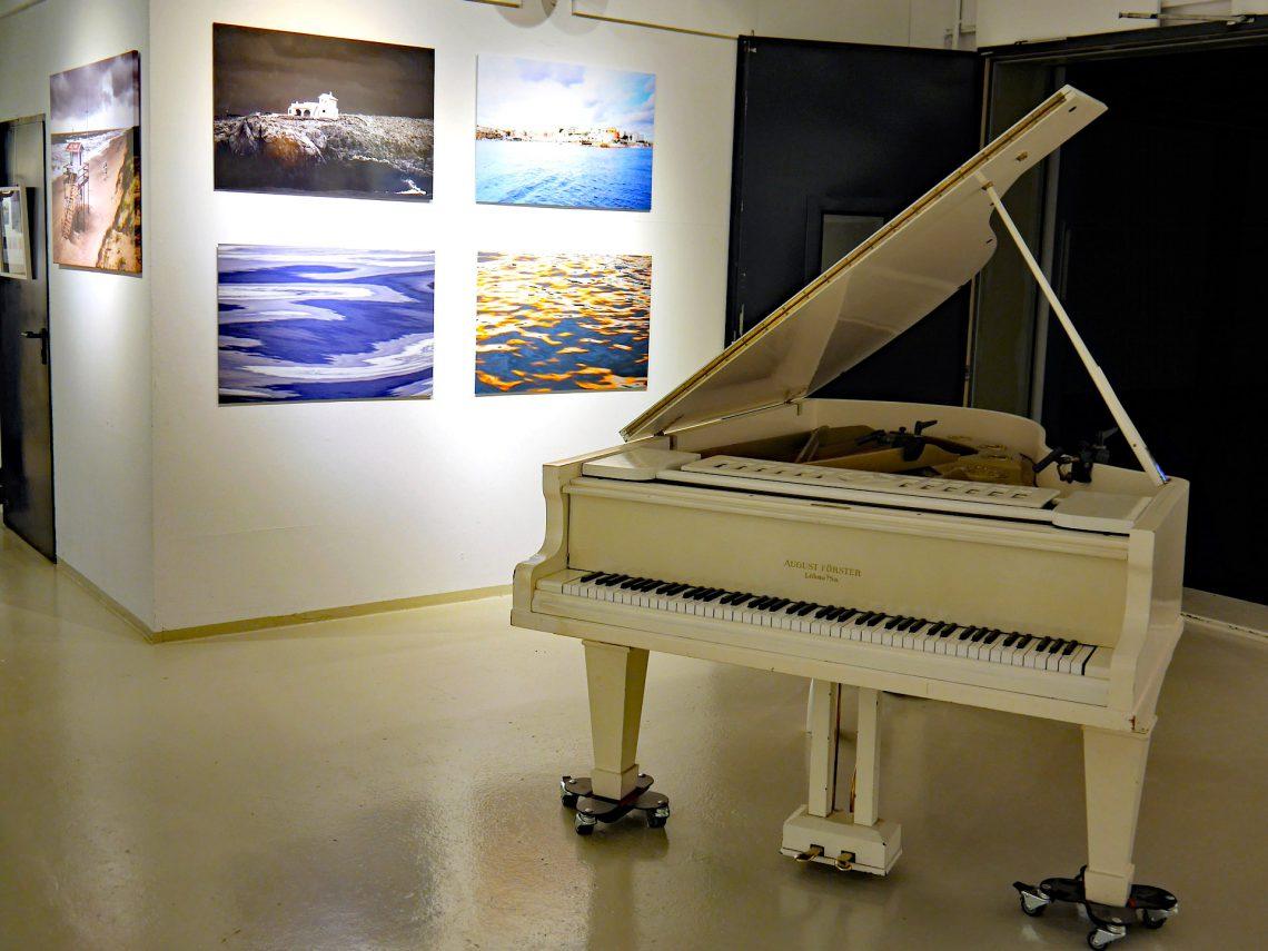 Vernissage und Kurzausstellung bei Syrinx Music & Media, Hamburg