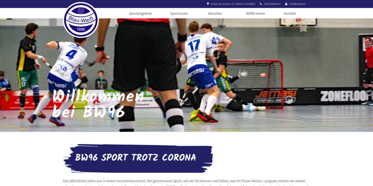 Blau Weiß 96 Schenefeld e.V. – Dein Verein in Schenefeld
