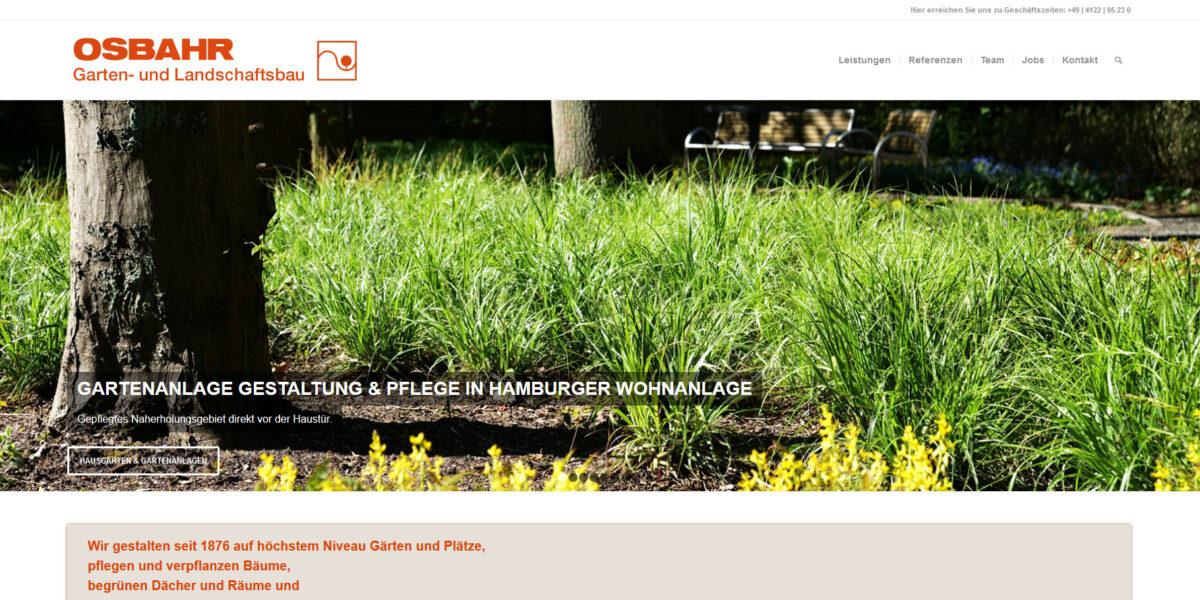 Osbahr – Garten Landschaftsbau für Norddeutschland