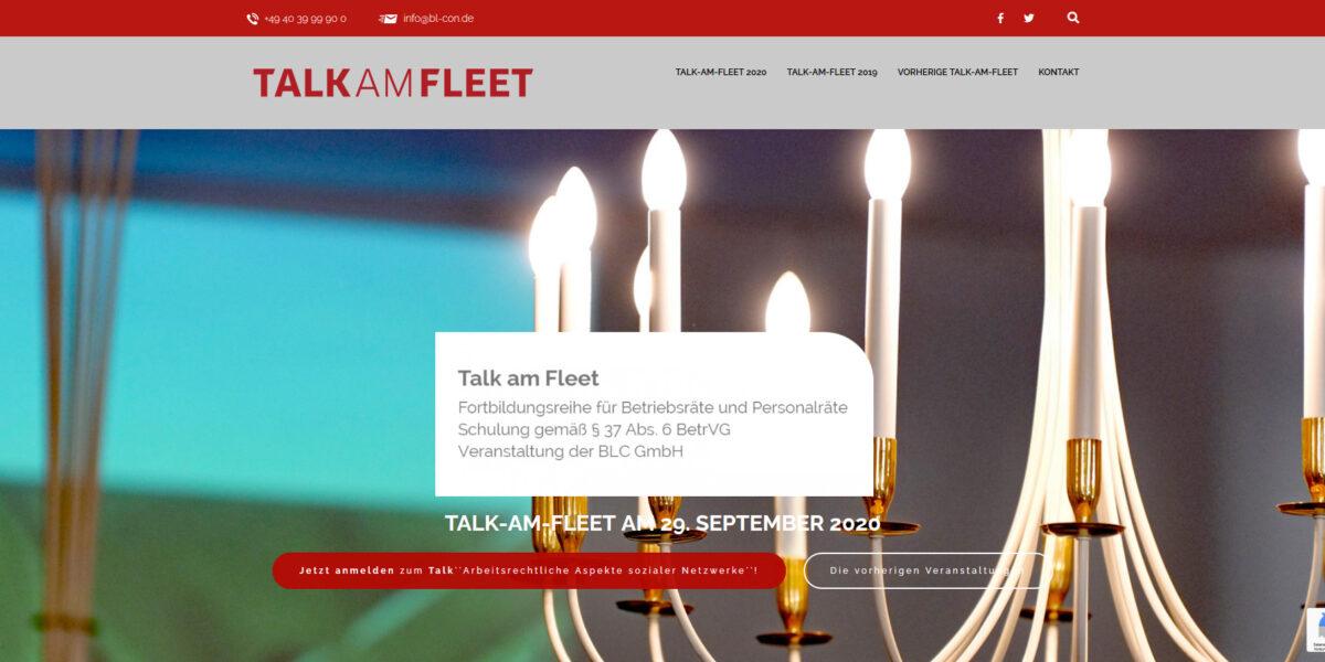 Talk am Fleet – Die BLC Veranstaltungsreihe für Betriebsräte zur Fortbildung und Vernetzung.
